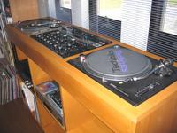 DJ ブース自作
