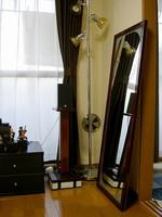 木製ミラースタンド