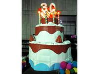 高校の文化祭で大型ケーキ台をDIY