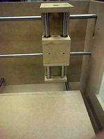 CNC装置の機械部品MDF