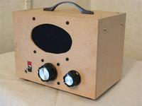 木箱ラジオのDIY