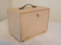 木箱ラジオをMDFを使って自作