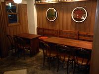 テーブル+ベンチの自作