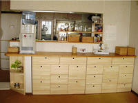 キッチンカウンター下の収納家具