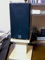木目テープ スピーカー台