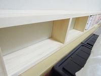 ベッドサイド DIY 本棚