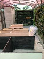 壁面収納 机 日曜大工 DIY 自作家具