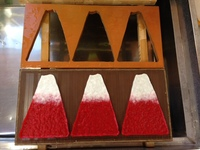 和紙 カード 富士山 木型