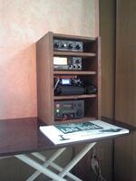 機材ラック DIY 自作家具 無線