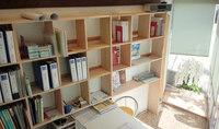壁面本棚 DIY 木材加工
