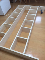1b-00019-01-1 壁面本棚 DIY