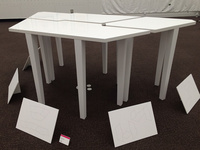 卒業制作 デスク テーブル 天板