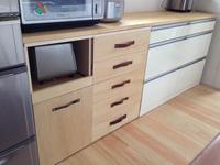食器棚 DIY キッチン