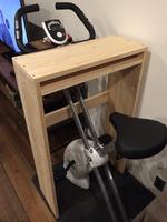エアロバイク テーブル DIY