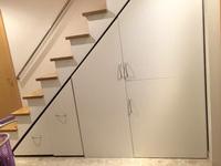 階段下収納DIY作品完成写真