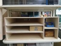 教室用整理棚をDIY