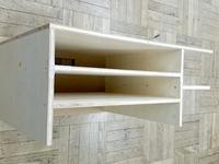 小学校の教室用整理棚DIY、作業途中の様子