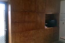 大型壁面収納のDIY作品