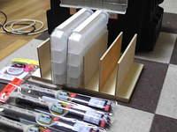 電子部品ケース用仕切り枠をDIY