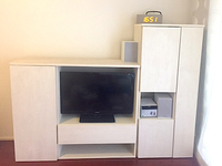 テレビキャビネットを含む壁面収納