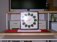 自作の時計アーム