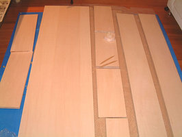 天井収納の材料