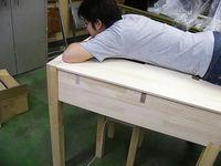磁界測定用簡易シールドベット木製