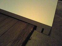 冷蔵庫を置く敷板diy