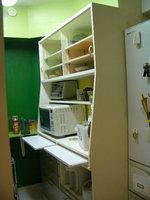キッチンの食器棚上部