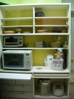 キッチンの食器棚収納