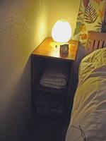 ベッドサイドテーブルdiy