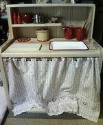 木製のままごとキッチンdiy