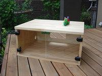 木製テレビ台の自作