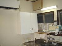 キッチンの吊り戸棚
