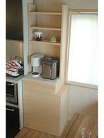 DIYキッチン収納棚