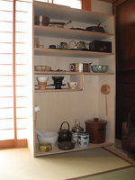 茶道具棚・敷板の自作