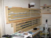 Nゲージ模型の飾り棚