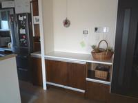 アイデア満載のキッチン収納