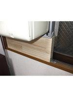 窓用エアコンの取り付けDIY