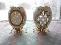 卵(カッティングボックスで製作した作品)