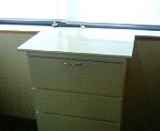 白ポリ合板の自作天板材