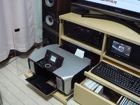 プリンター収納付きテレビ台オープン