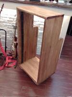スタジオ音響機材の収納ラック、DIY中