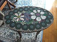 モザイクタイルテーブルDIY