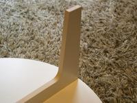 木製ローテーブルの足をDIY