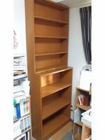 天井まである本棚の自作