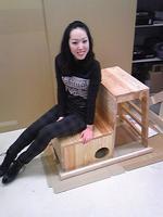 猫と遊ぶ椅子(卒業制作)