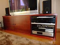 収納付き引き扉のテレビボードを自作