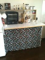 キッチン収納(タイル貼り)のDIY