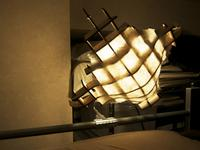 和紙のランプシェード